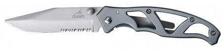 Nazis Gerber Paraframe II - Stainless, Serrated