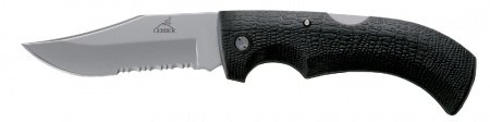 Nazis Gerber Gator Clip Point, Serrated