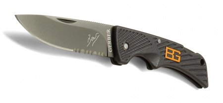 Nazis Gerber Bear Grylls  Compact Scout, Drop Point, Serrated
