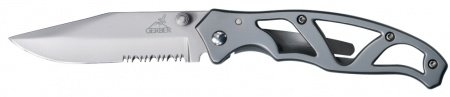 Nazis Gerber Paraframe I Stainless, Serrated